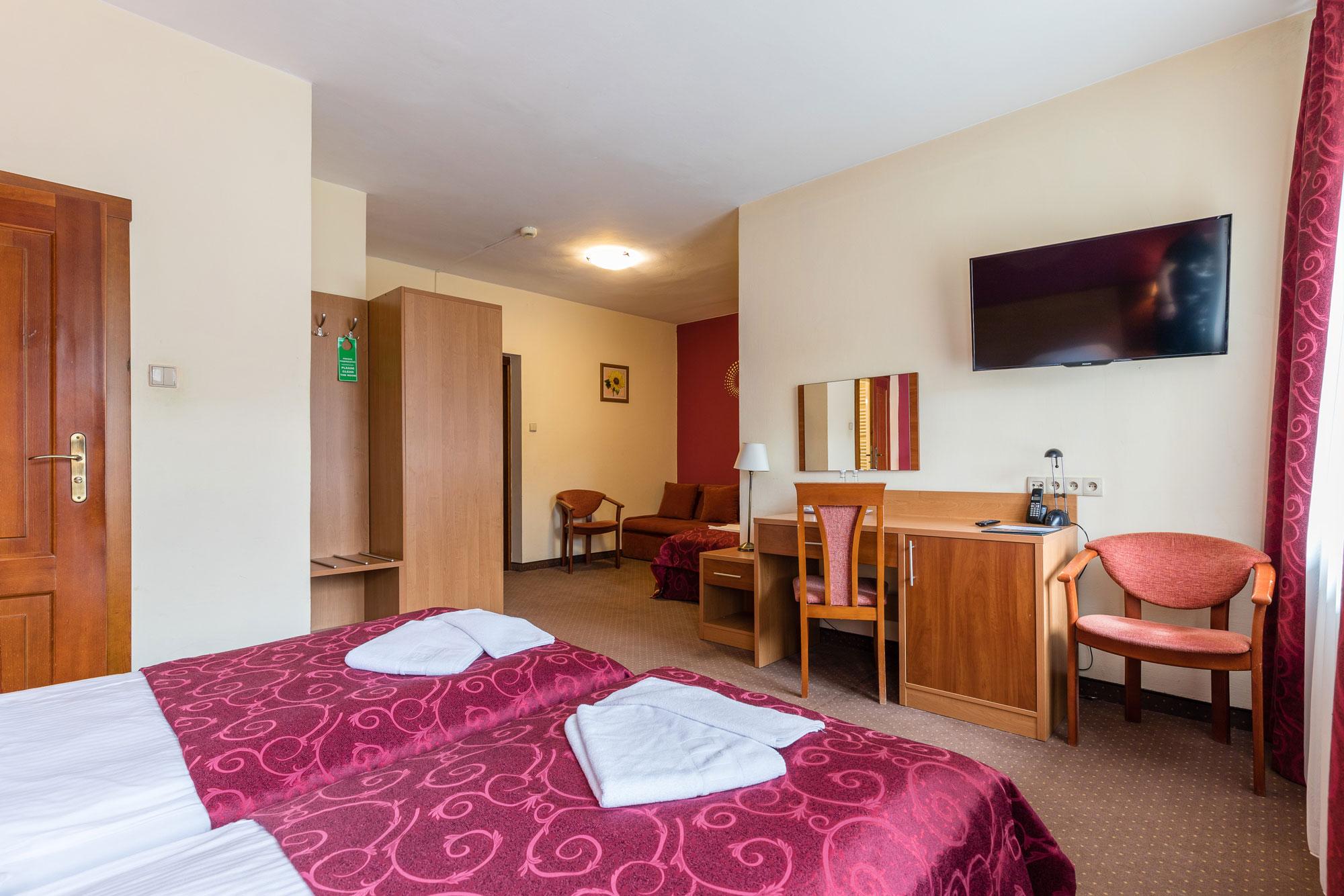 Zdjęcie pokoju w hotelu Boruta